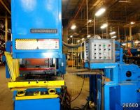C Frame Hydraulic Press CINCINNATI 110 OBS
