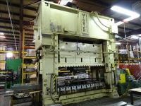 H Frame Hydraulic Press MINSTER E2-600-120-54