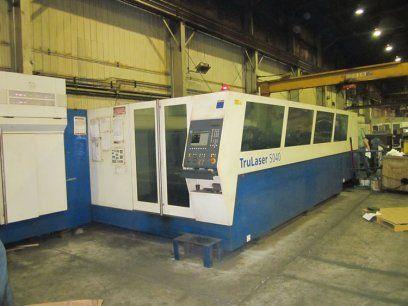 2D Laser TRUMPF TRULASER 5040 2007
