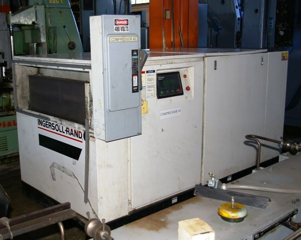 Screw Compressor INGERSOLL RAND SSR-EP 100 1997