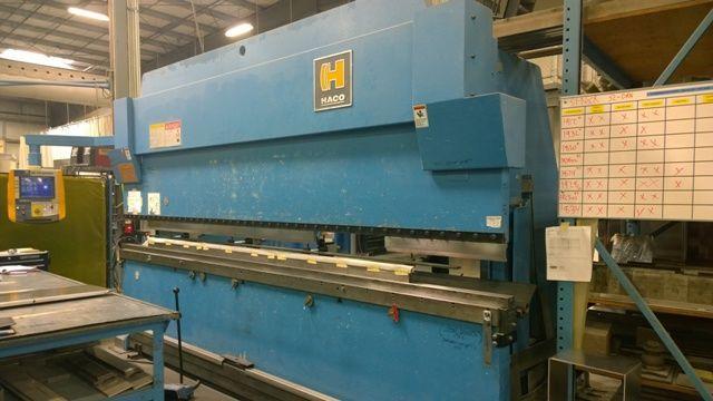 CNC Hydraulic Press Brake HACO REM 150-14 1999