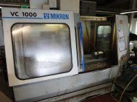 Vertikal CNC Fräszentrum MIKRON VC 1000