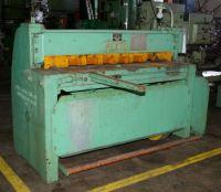 Mechanical Guillotine Shear PEXTO 12-U4-F