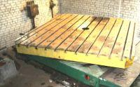 Wytaczarka pionowa Tavola Girevole Traslante 80 ton. 1990-Zdjęcie 2
