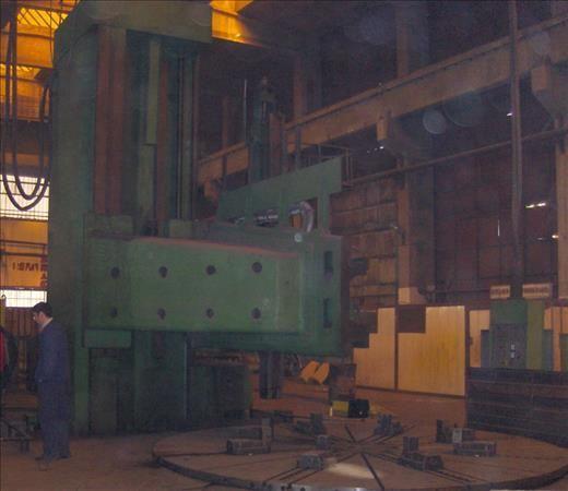 Tokarka karuzelowa TITAN SCM 63 1985