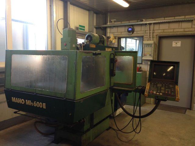 CNC Milling Machine MAHO MH 600 E 1987