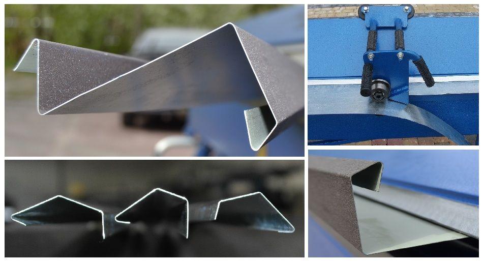 Folding Machines For Sheet Metal Baubras Zgr3140