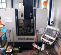 Centre d'usinage vertical CNC SPINNER MC 650
