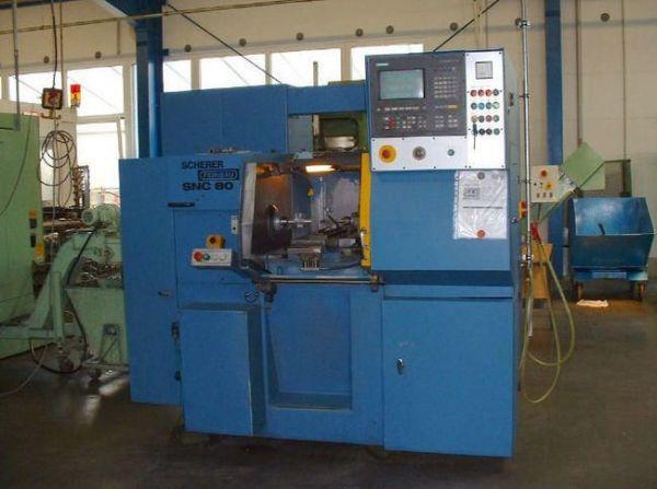CNC strung SCHERER FEINBAU SNC 80 1991
