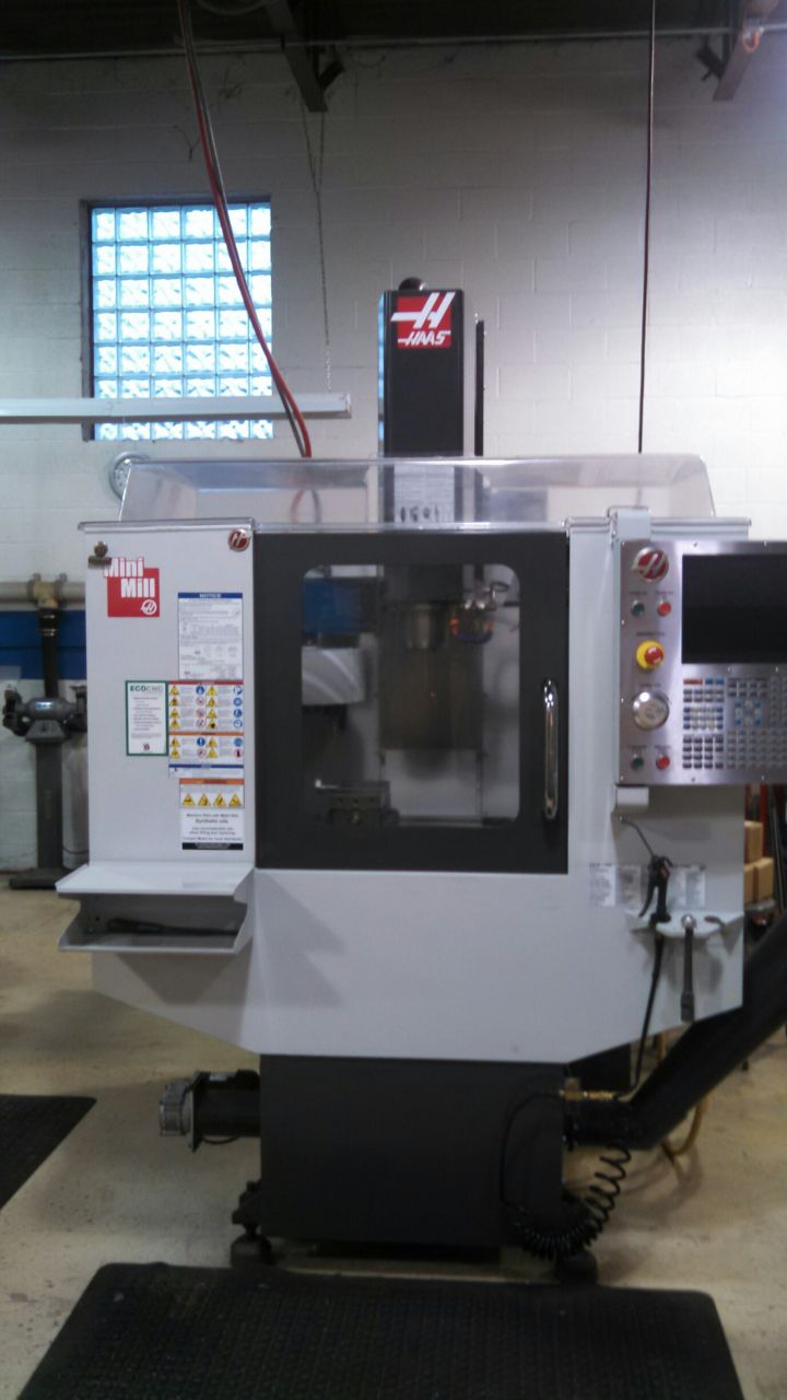 Cnc Vertical Machining Center Haas Mini Mill