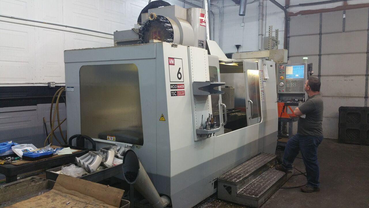 haas milling machine