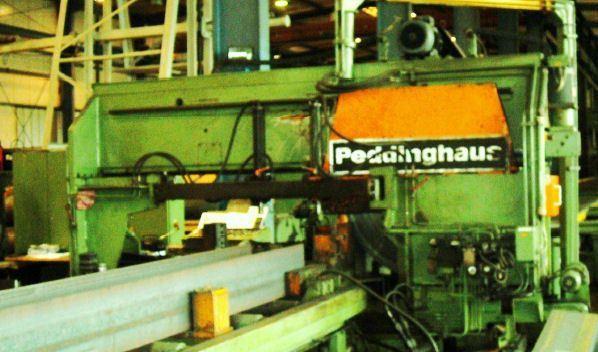 Kruhový studená píla PEDINGHAUS LC 1250 1982