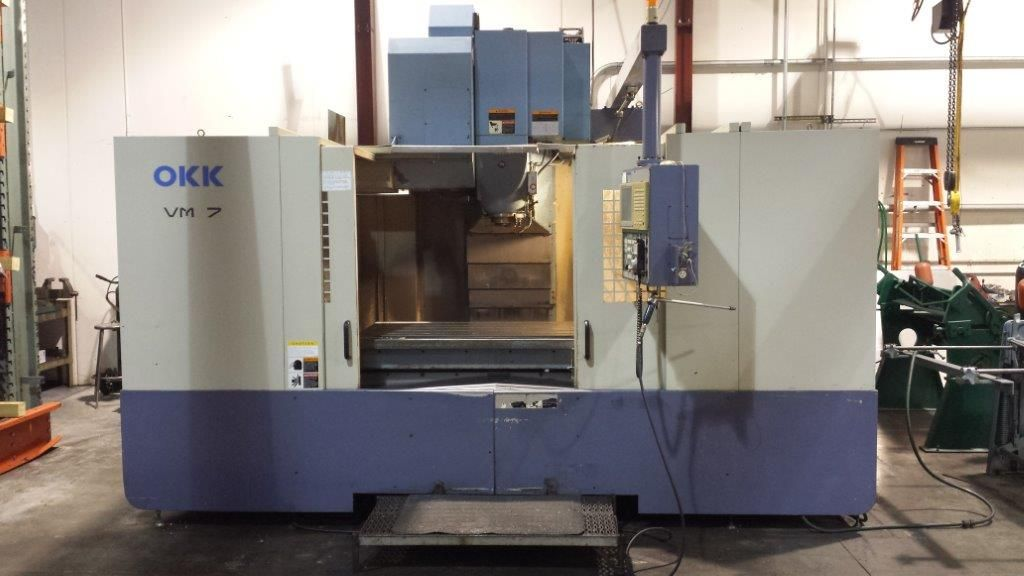 CNC Vertical Machining Center OKK VM 7