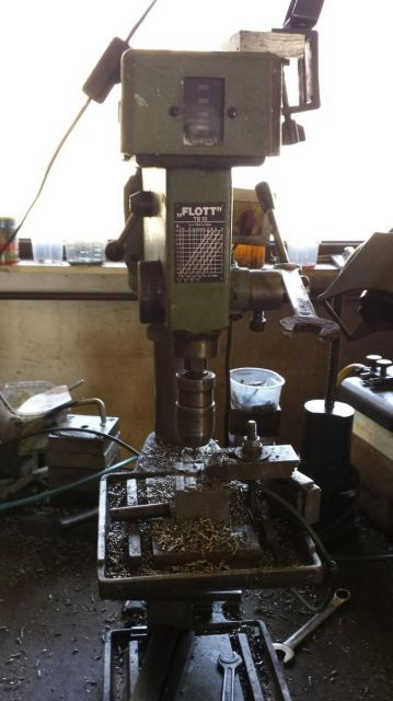 Column Drilling Machine FLOTT TB 10 1987