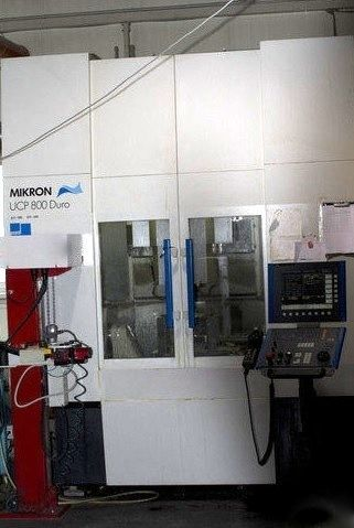 CNC Vertical Machining Center MIKRON UCP 800 DURO 2005
