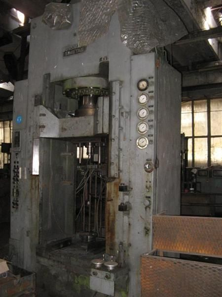H Frame Hydraulic Press BUSSMANN HPM 400 S 1984