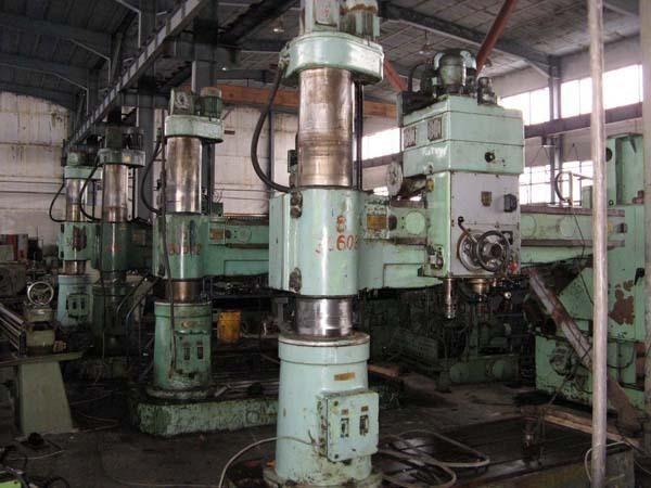 Radial Drilling Machine Stanko 2 H 55 1980