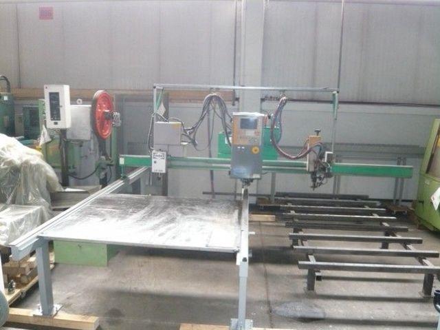 Autogen-Brennschneidanlage ZINSER 1211/CNC500 1996