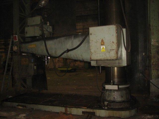 Radiálna vŕtačka STANKOIMPORT 2A 587 1987