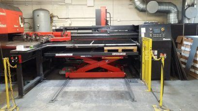 Punching Machine AMADA MP1225NJ 2006