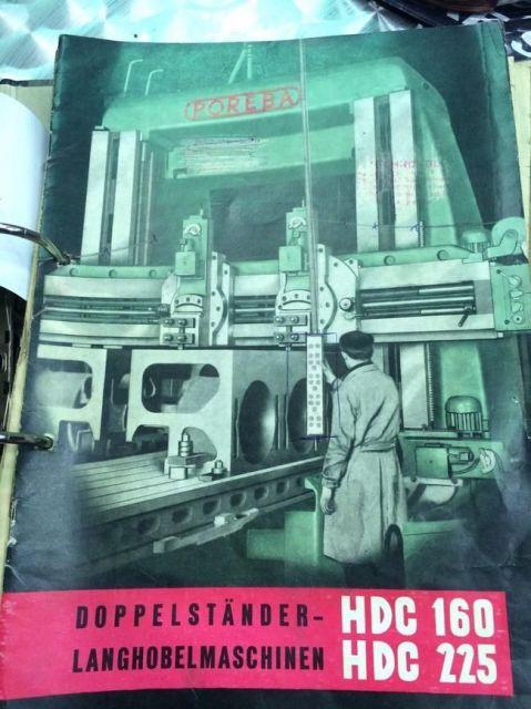 Strugarka bramowa Poręba HDC 225 1965