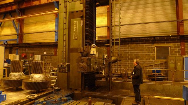 Horizontal Boring Machine BERTHIEZ CNMP MT 150/130 1961