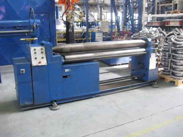 3-Walzen-Blecheinrollmaschine BLEMAS RQ 2000x6 1989