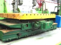 Horizontalbohrwerk Tavola Girevole Traslante 60 Ton. 60 ton