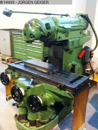 Universal Milling Machine HURON KU 3 1966