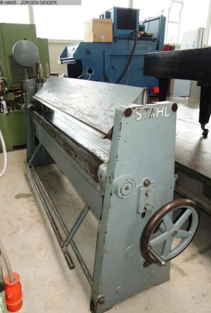 Folding Machines for sheet metal STAHL AB 2002 1958