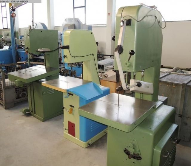 Band Saw Machine MOESSNER SSF 420 1967