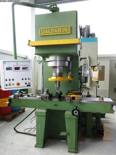 C Frame Hydraulic Press GALDABINI RPRS 160 1993
