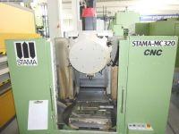 Vertikal CNC Fräszentrum STAMA MC 320