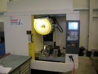 Centrum frezarskie pionowe CNC Fanuc Alpha-T 21 iFL