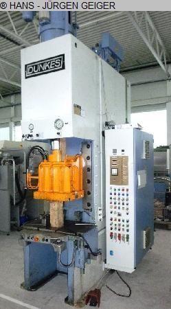 C Frame Hydraulic Press DUNKES HZS 75 1992