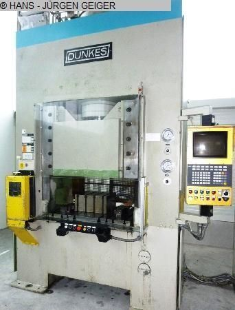 H Frame Hydraulic Press DUNKES HDS 125 1987