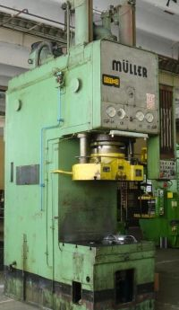 C Frame Hydraulic Press MUELLER CAZ 250