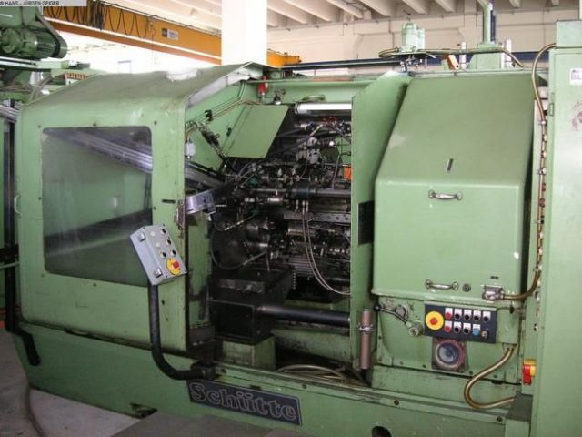 Multi Spindle Automatic Lathe SCHUETTE ADH 160 1980