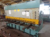 Hydraulic Guillotine Shear STROJARNE PIESOK CNTA3150x16A