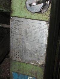 Circulaire koude zaag KALTENBACH HDM 800 1971-Foto 2