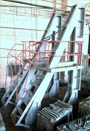 Wytaczarka pozioma Squadre  H. 4300 mm H. 4.300 mm 1990