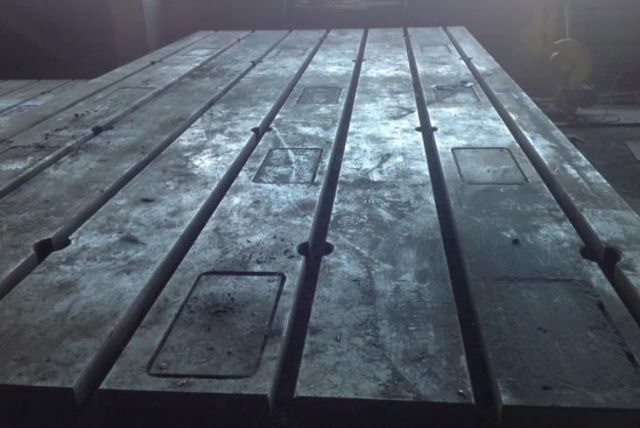 Wytaczarka pozioma Piani in Ghisa 2200 x 4000 mm 2.200 x 4.000 x H 350 mm 1985