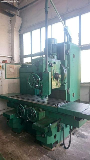 Vertical Milling Machine STANKOIMPORT 6560 1973