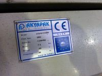 4-Walzen-Blecheinrollmaschine AKYAPAK AHS 2600 x 10 2004-Bild 3