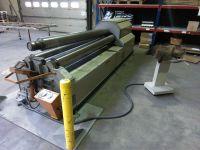 4-Walzen-Blecheinrollmaschine AKYAPAK AHS 2600 x 10