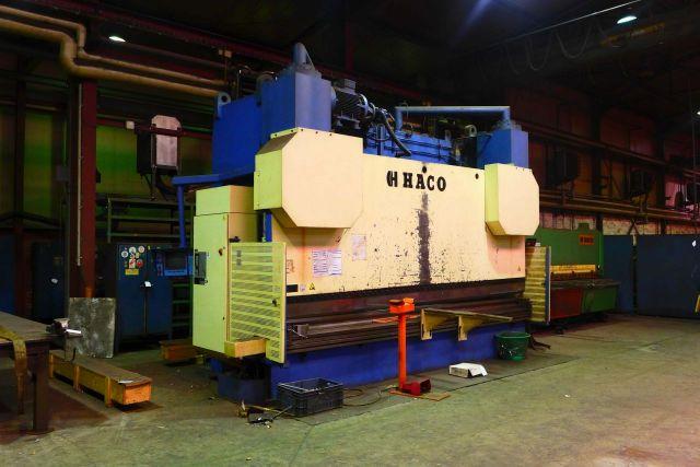 Hydraulic Press Brake HACO HDSY 50500 1999