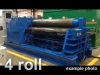 4 rol plaatbuigmachine HAEUSLER VRM-E