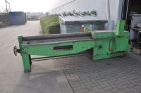 3 Roll Plate Bending Machine Z M 2100 X 6