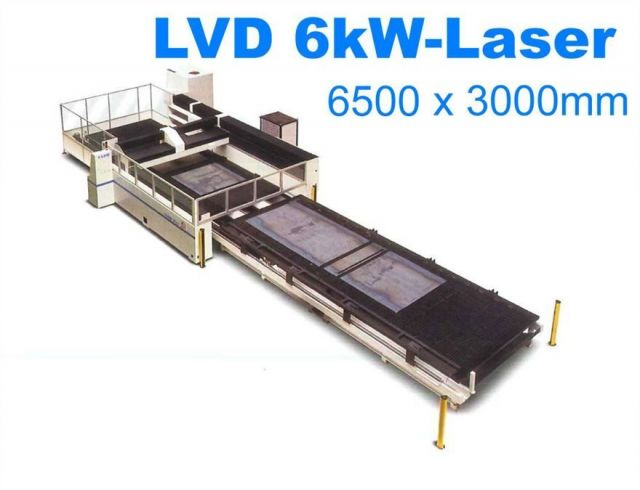 Máquina de corte por láser 2D LVD IMPULS 6526 2001