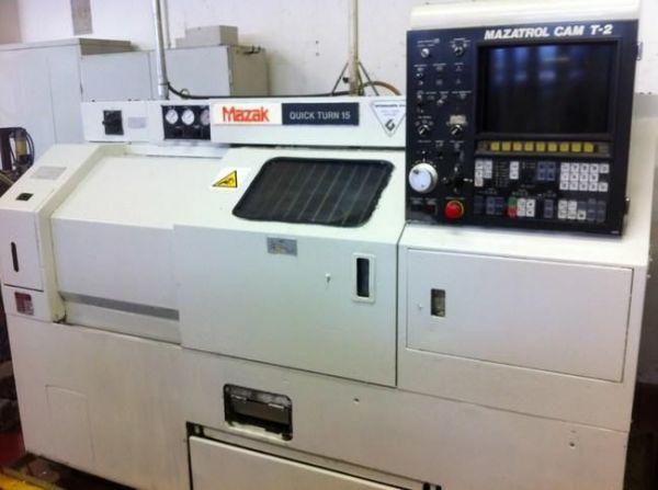 CNC-Drehmaschine MAZAK Quickturn 15 1988